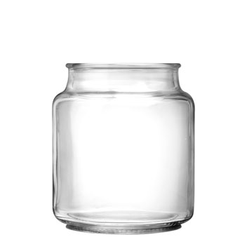 Jar:  16oz Country Comfort with choice of lid
