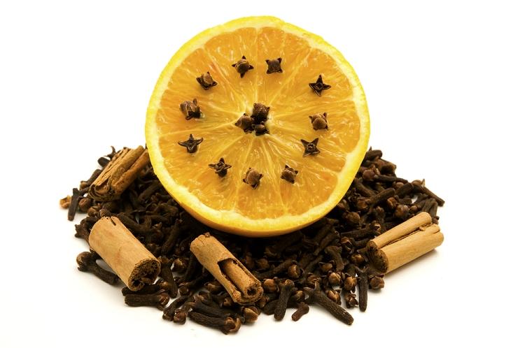 Fragrance:  Clove Pomander