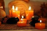 Orange Candle Dye; Liquid