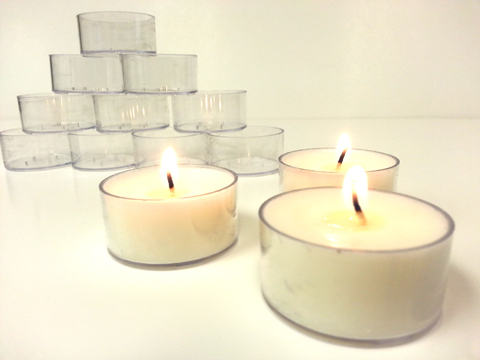 Polycarbonate Tealight Cups
